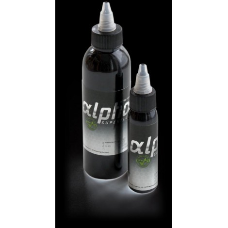 Tattoo inkt alpha SUPERFLUID starterkit 6 x 30 ml