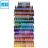 101x 30 ml Intenz Color Tattoo Ink  Set