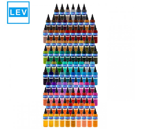 101x 30 ml Intenze Color Tattoo Ink  Set