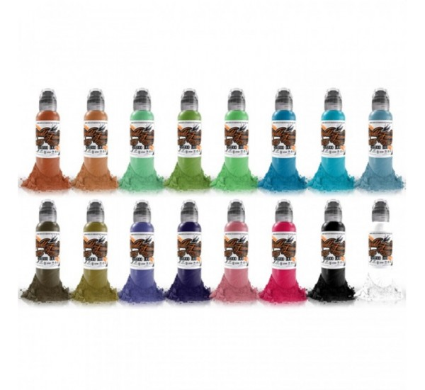World Famous COLOUR SET 1 16 X  30 ml