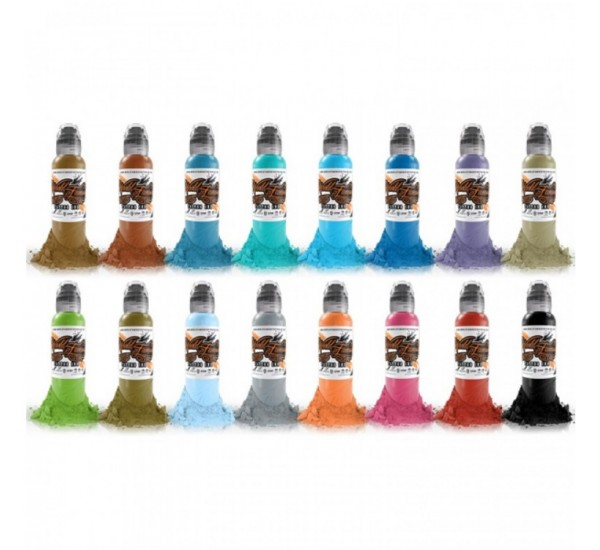 World Famous COLOUR SET 2 16 X  30 ml
