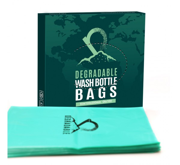 Eco Degradable tattoo wash bottle bags