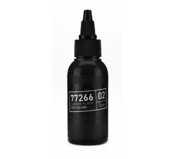 Carbon black Sumi 02 50 ml