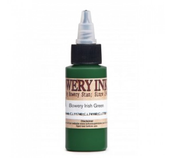 Bowery Ink Irish Green 30 ML