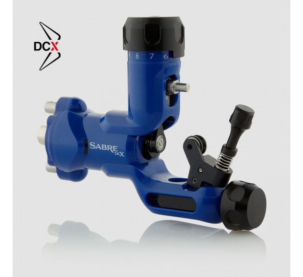 Sabre Tattoo Machine DCX – Blue