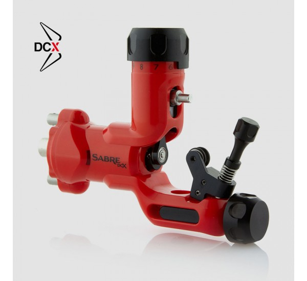 Sabre Tattoo Machine DCX – RED